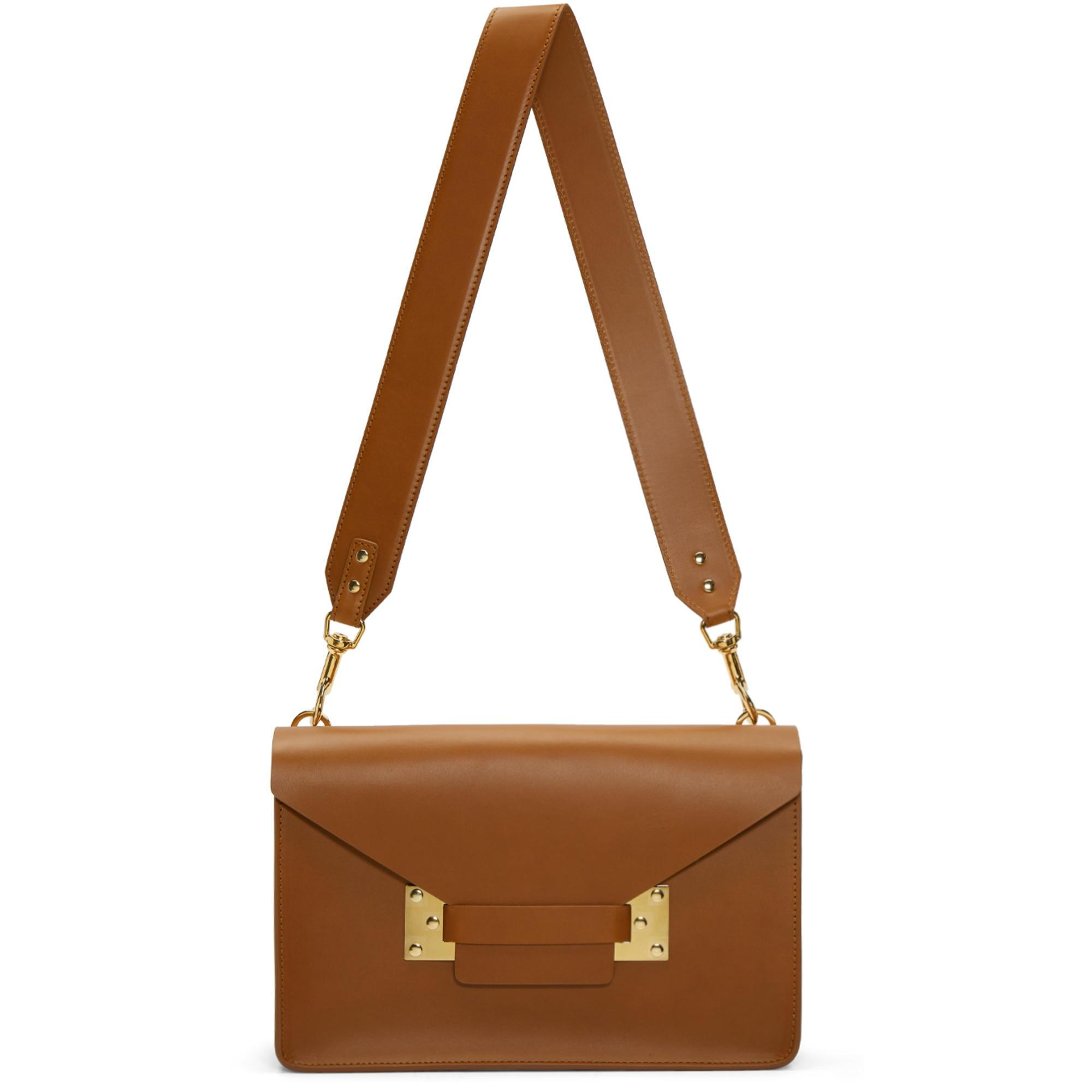 Sophie Hulme Tan Milner Bag in Brown - Lyst e0bc874005a82