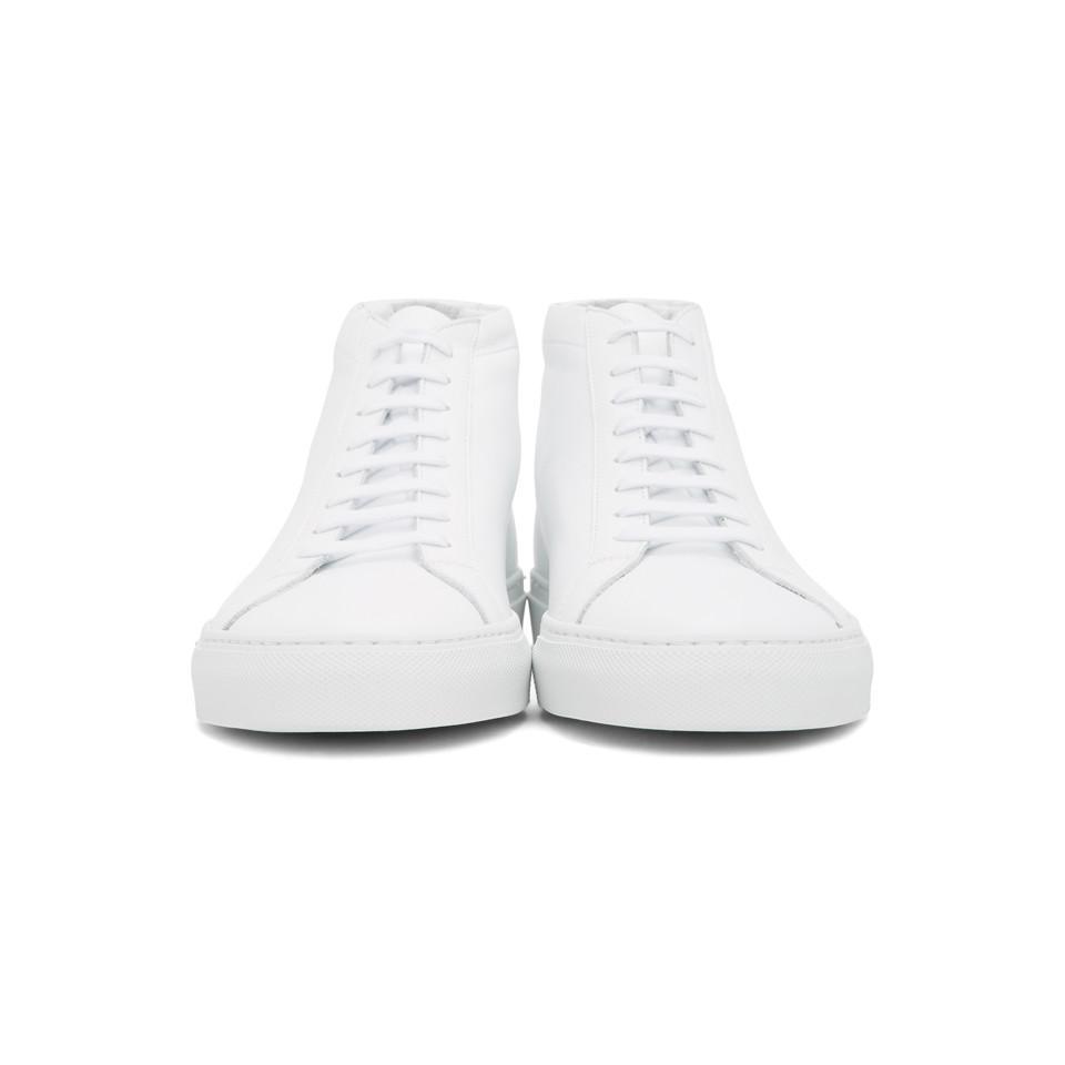 Baskets blanches Original Achilles Mid Cuir Common Projects pour homme en coloris Blanc 2Hzp