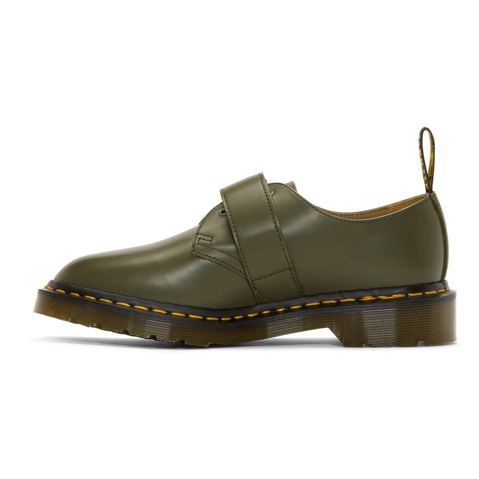Comme des Garçons Homme Plus Khaki Engineered Garments Edition 1461 Smith Derbys gVj26ncO