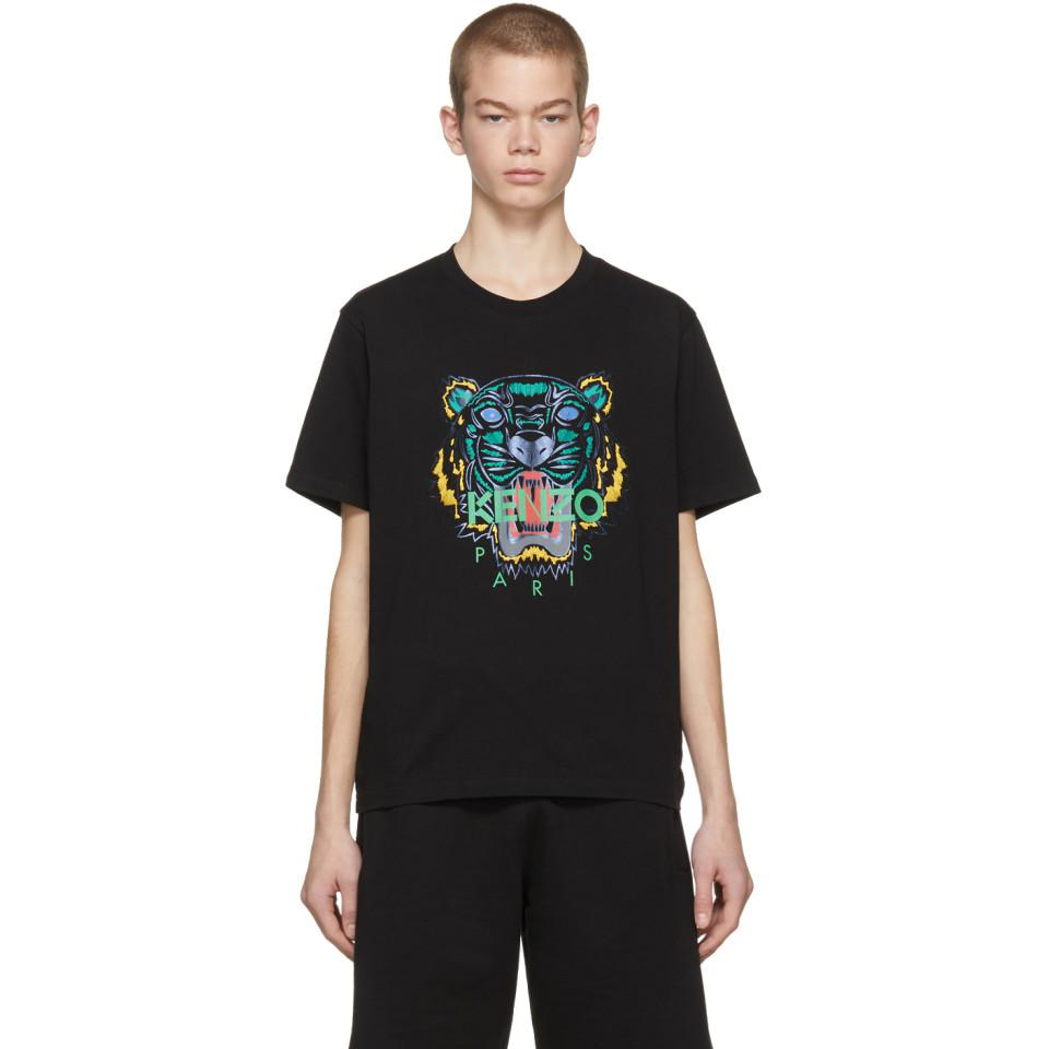 Kenzo T Shirt Edition Black Men Limited Holiday For nk0wOP