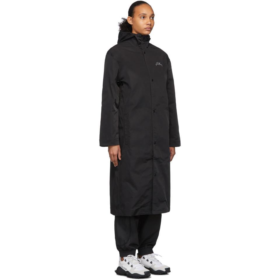 * Manteau noir Core Rubberized A_COLD_WALL* en coloris Noir GRlWX