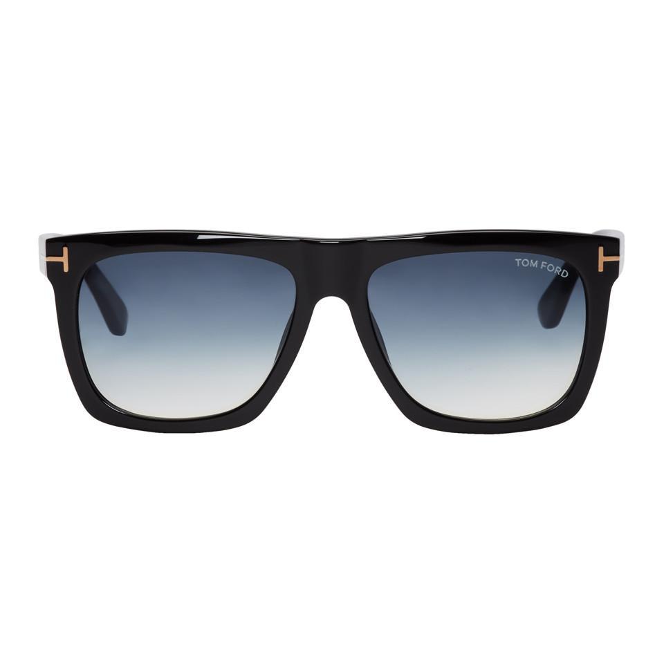 a7e198a16d Tom Ford Black Morgan Sunglasses in Black for Men - Lyst