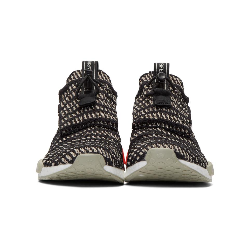 Adidas Originals Black And Beige Nmd ts1 Pk Gtx Sneakers for men