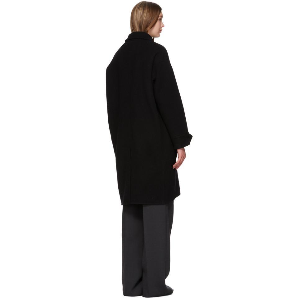 Manteau surdimensionne noir Merino Series Laines 3.1 Phillip Lim en coloris Noir 3CCCv