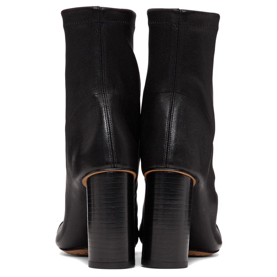Isabel Marant Leather Black Rillyan Boots