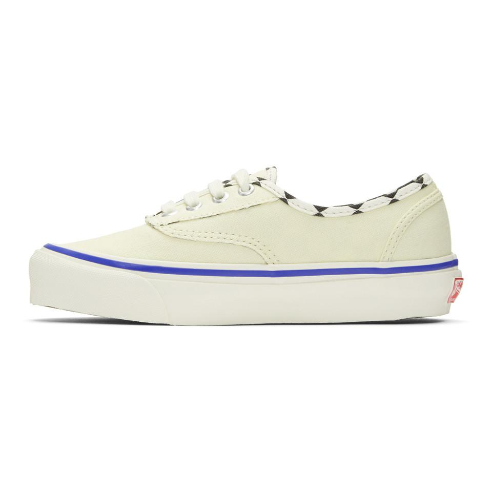Vans Canvas White Inside/out Og Authentic Lx Sneakers