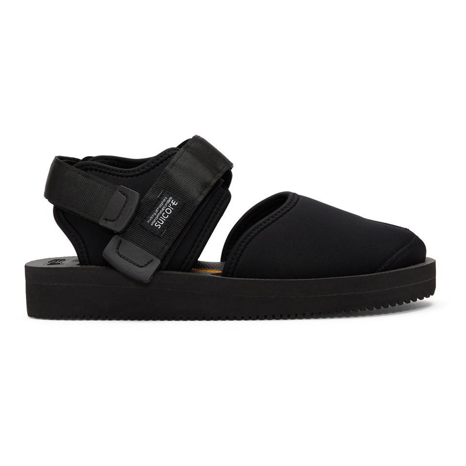 a48337d2e7c2 Suicoke Black Bita-v Sandals in Black for Men - Lyst