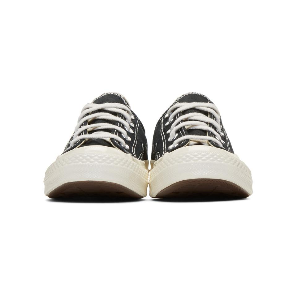 Play Comme des Garçons Canvas Black Converse Edition Chuck Taylor All-star '70 Sneakers