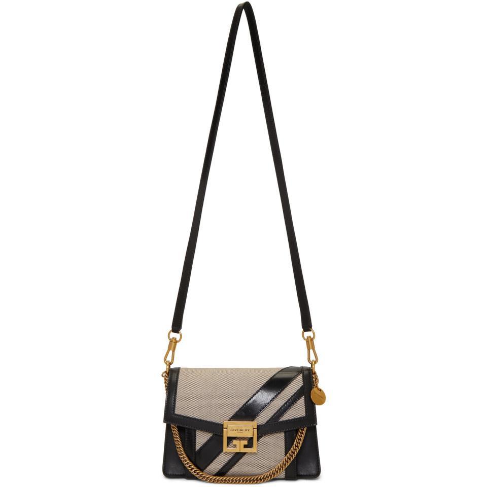 73ef885fde3 Givenchy - Black And Grey Small Gv3 Bag - Lyst. View fullscreen