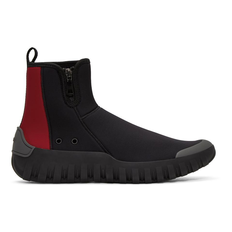 Prada neoprene sock sneakers free shipping professional cheap visit kymcdu