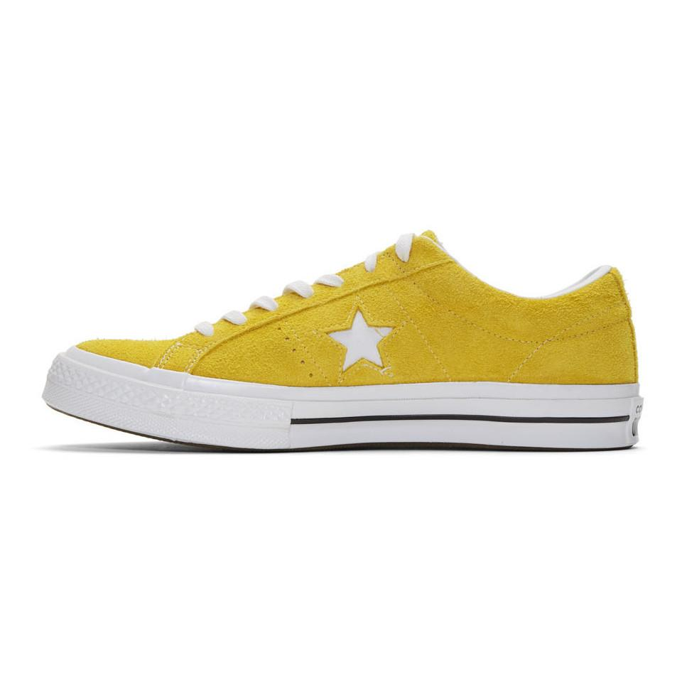 Converse Yellow Suede One Star Vintage