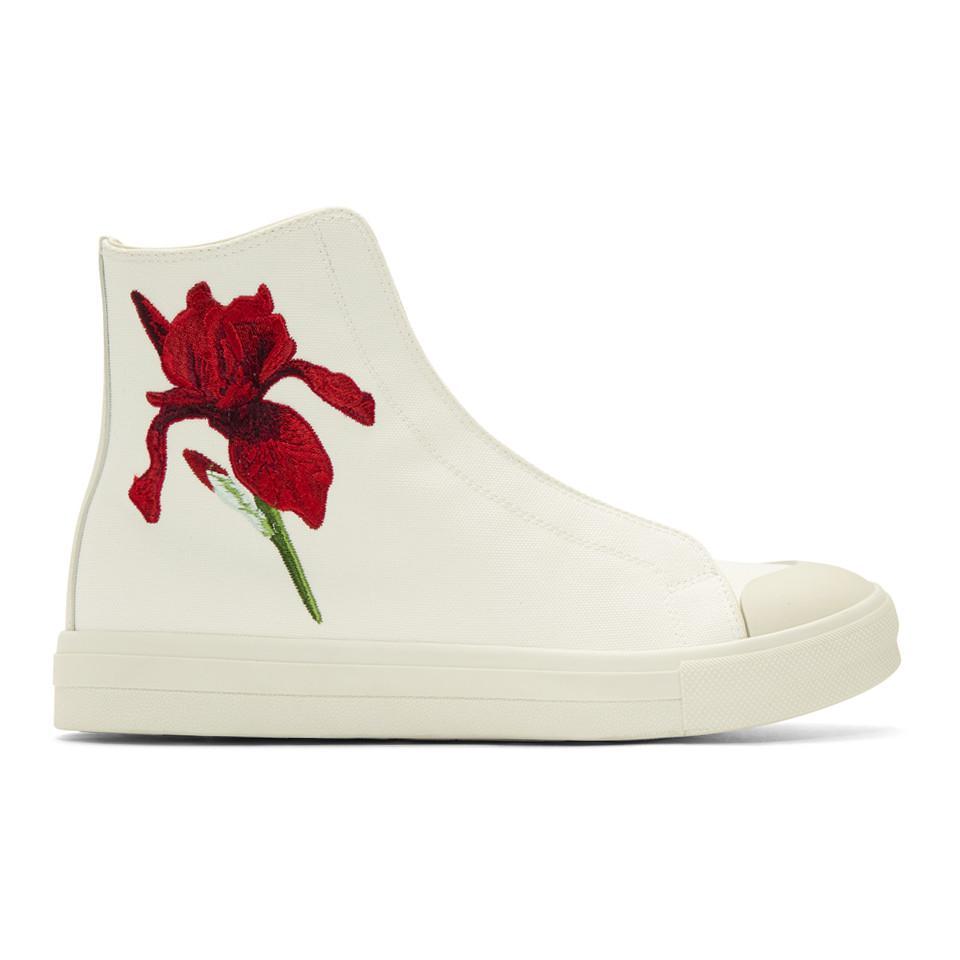 Diesel Off-White Iris High-Top Sneakers MWr5As