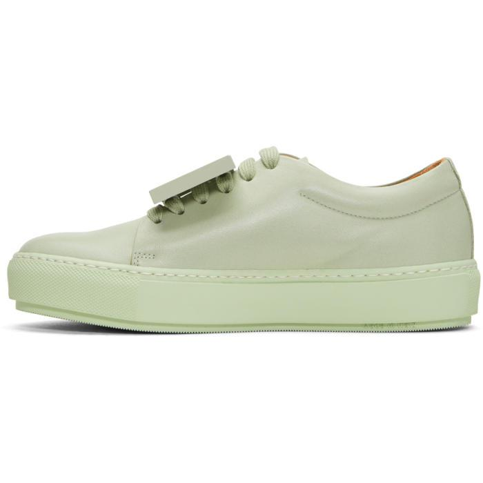 Acne Studios Adriana Leather Sneakers in Green