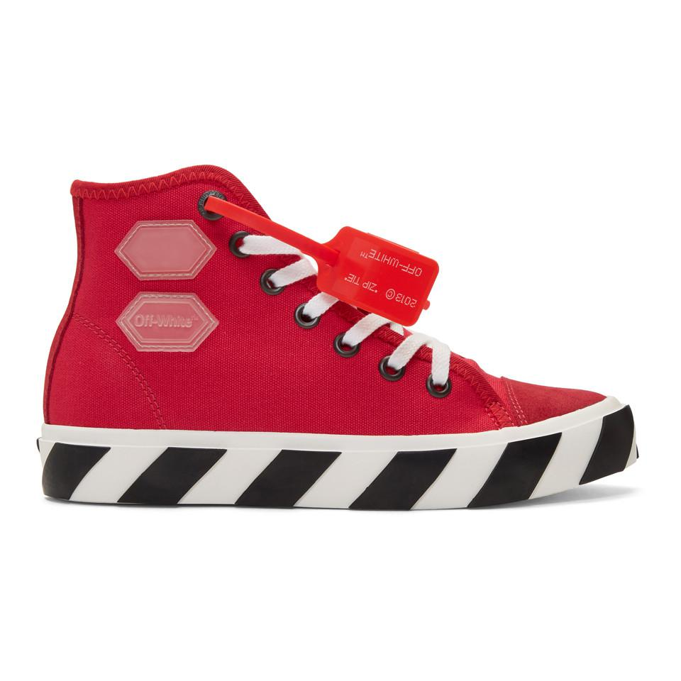 Off-White c/o Virgil Abloh Canvas Red