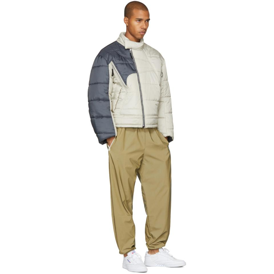 GmbH Synthetic Beige And Grey Helly Hansen Edition Recycled Down Hans Jacket in Natural for Men