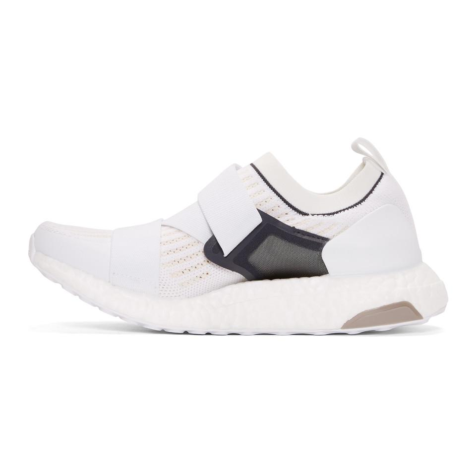 adidas By Stella McCartney Rubber White Running Ultraboost X Sneakers