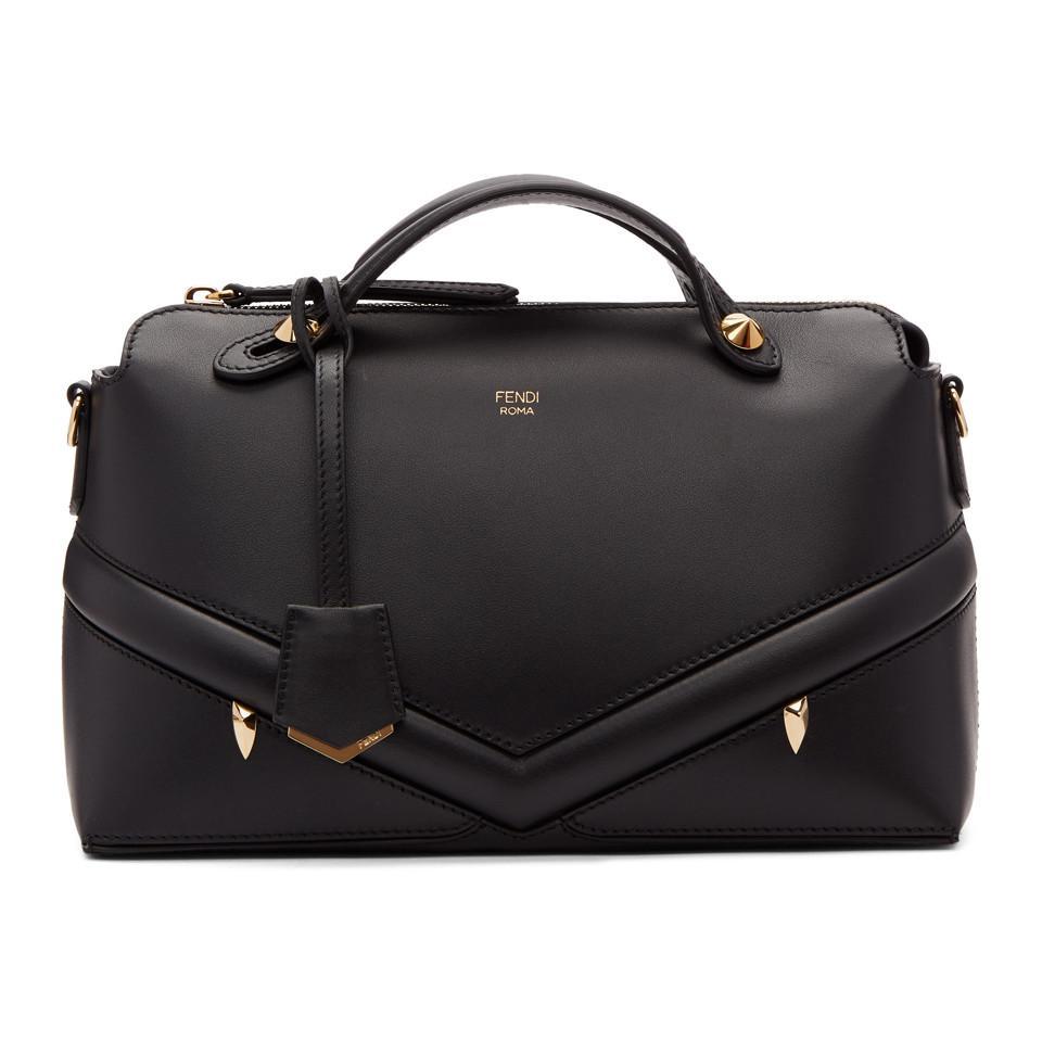 fdf7c13d71a6 Lyst - Fendi Black Medium Bag Bugs By The Way Bag in Black