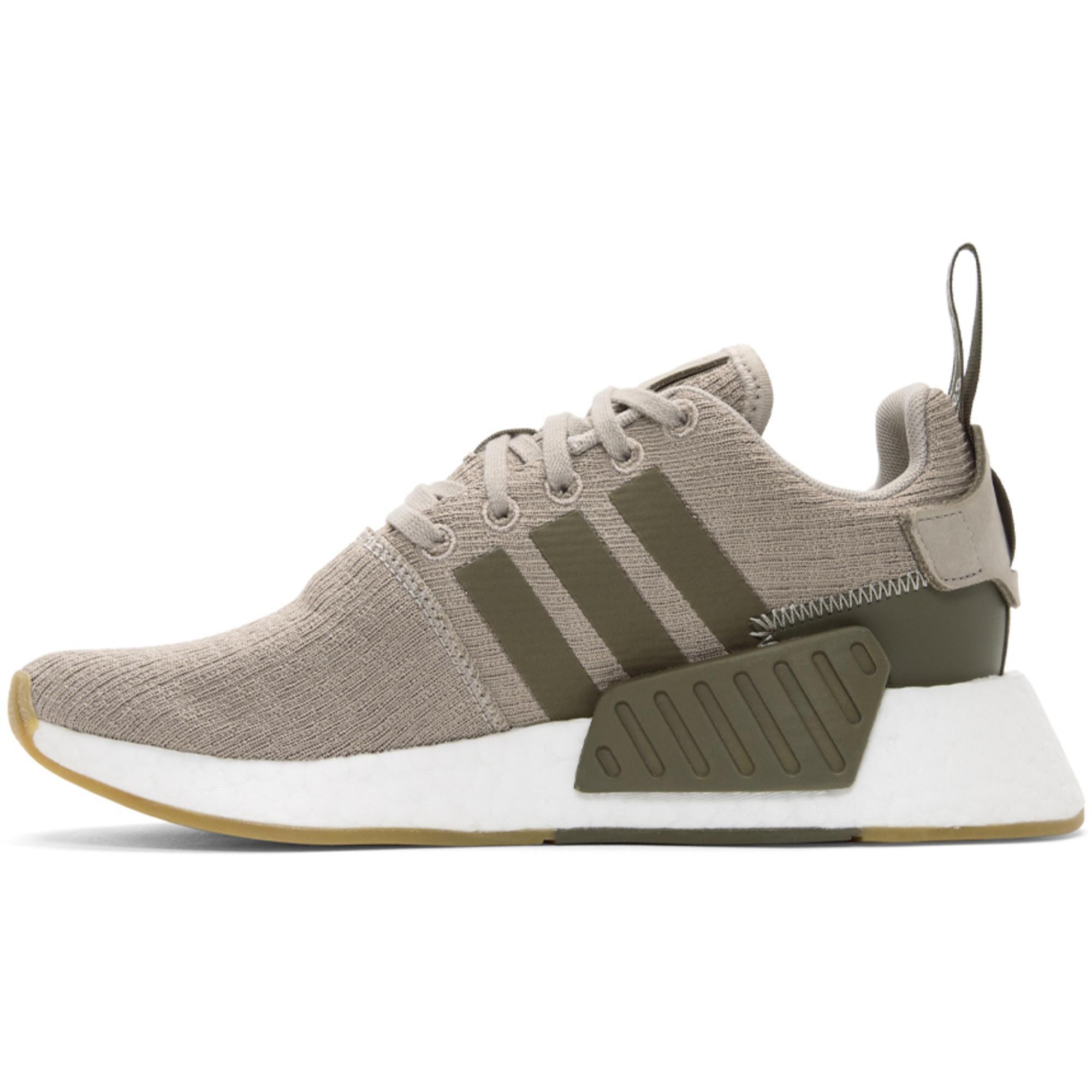 adidas originals sneaker nmd r2 taupe