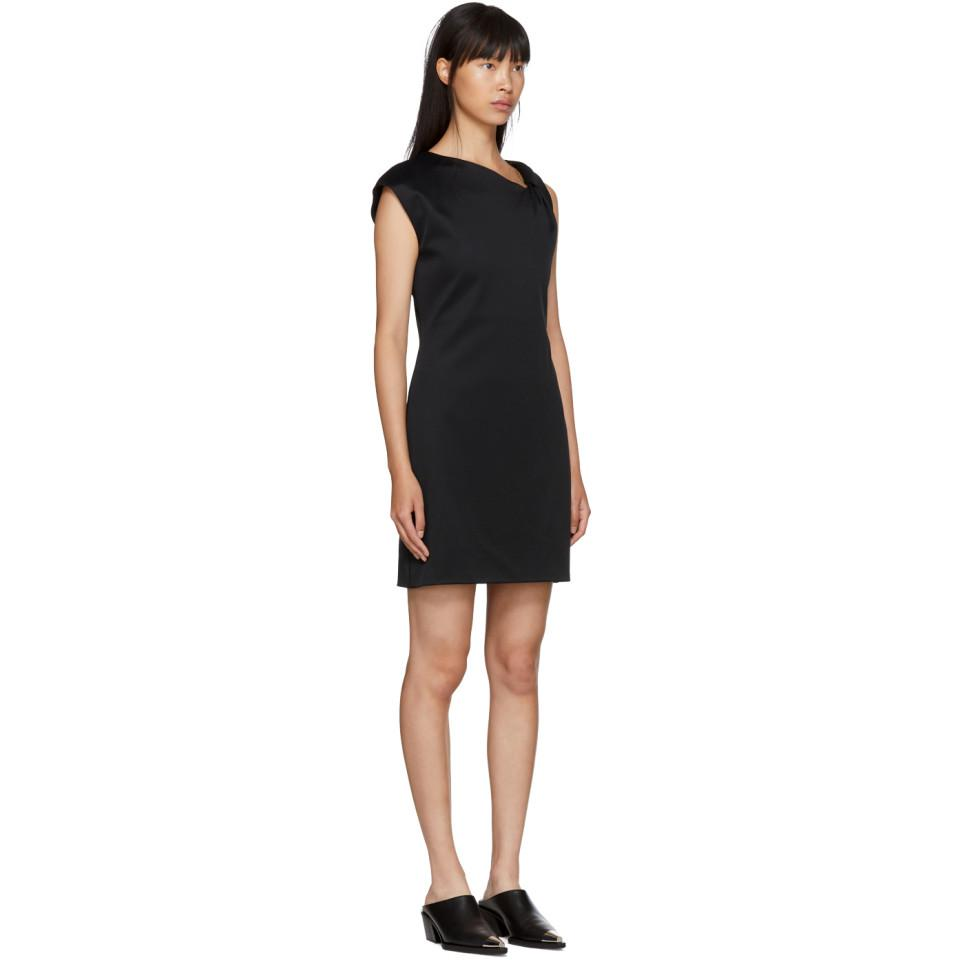 Lyst - Helmut Lang Black Twist Tank Dress in Black d96ec29de