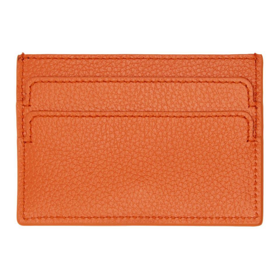 skull cardholder - Yellow & Orange Alexander McQueen oICU0B0sc7