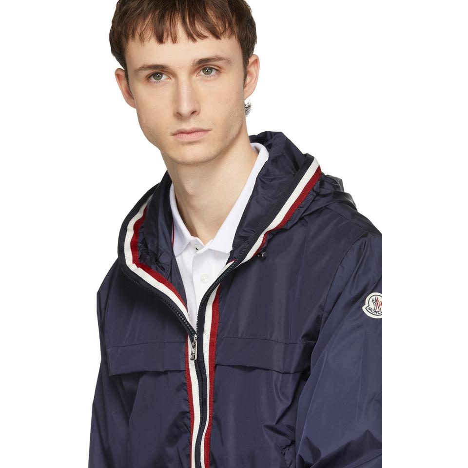 Moncler Synthetic Navy Anton Jacket in Blue for Men