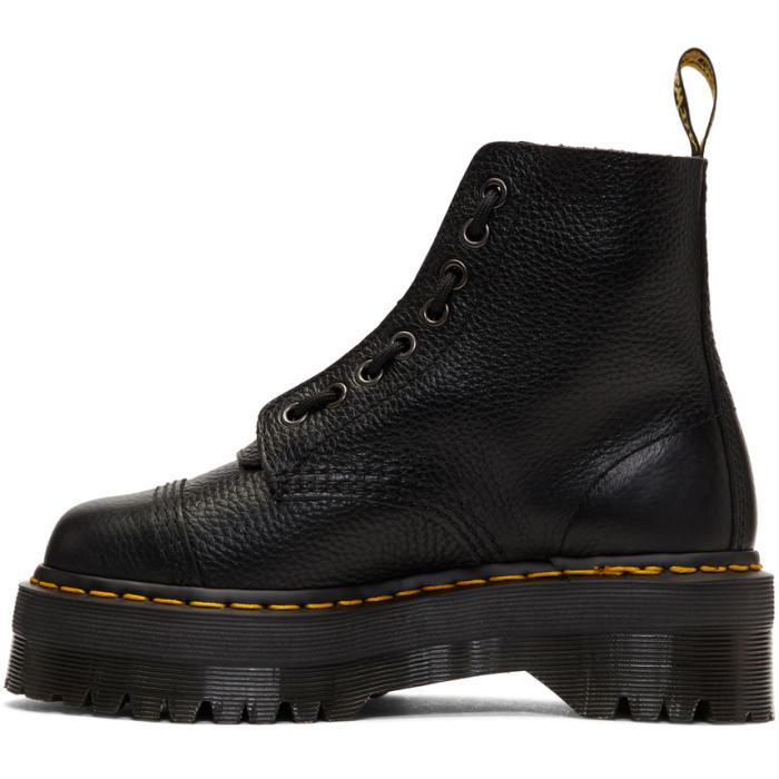 ab6820a7d5f9 Dr. Martens Black Quad Retro Sinclair Boots in Black - Lyst