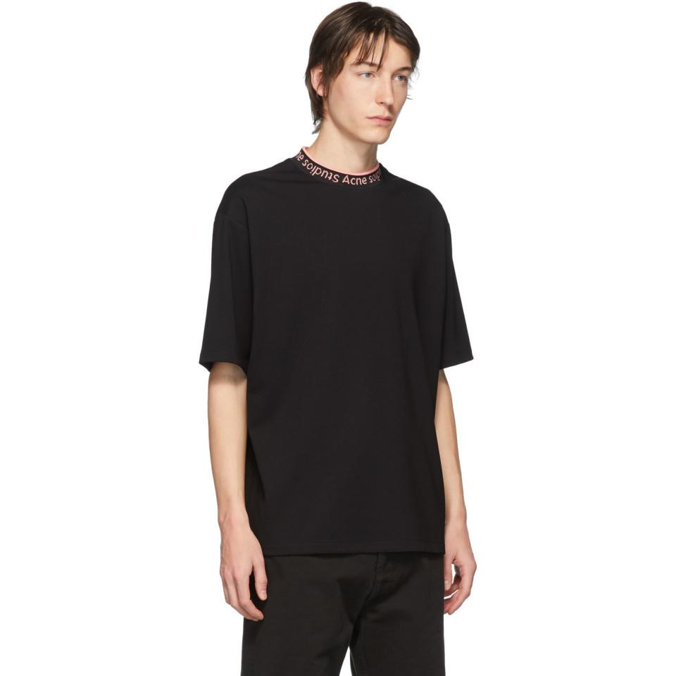 Acne Studios Synthetic Draped Tie Neck Fluid Blouse in