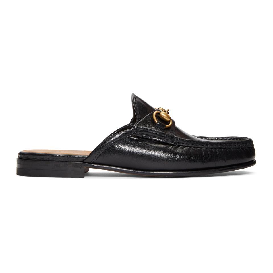 dcf03ef0b4b Gucci Black Slip-on Roos Loafers in Black for Men - Lyst