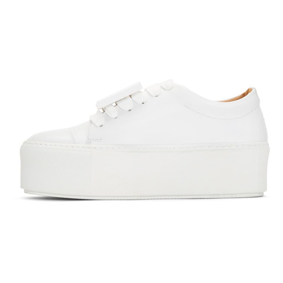 Acne Studios Leather White Drihanna