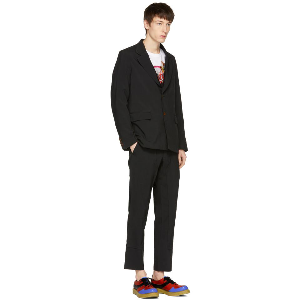 Comme des Garçons Black Tropical Garment Blazer in White for Men