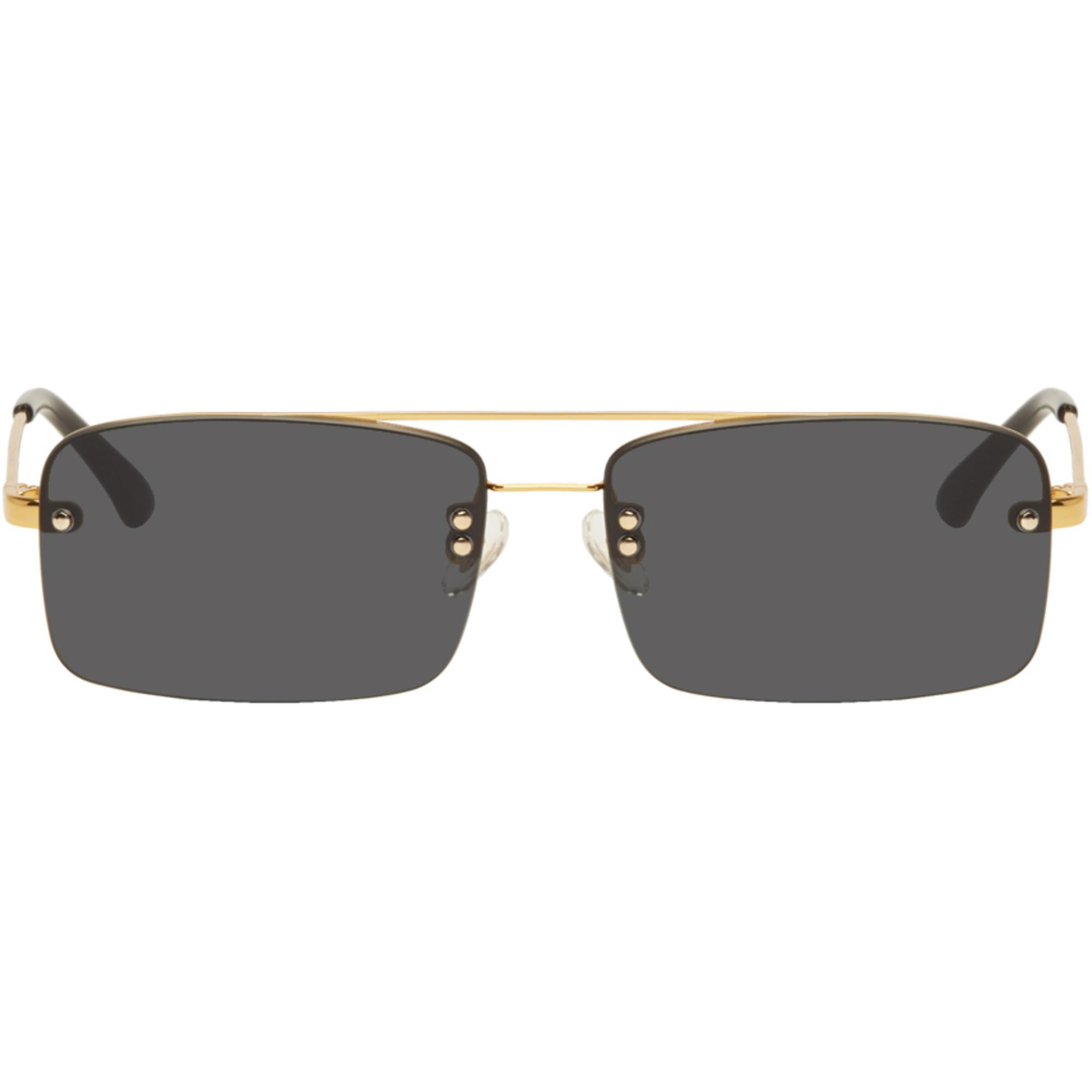 d35b7685b9 Lyst - Dries Van Noten Gold And Black Linda Farrow Edition 156 C1 ...