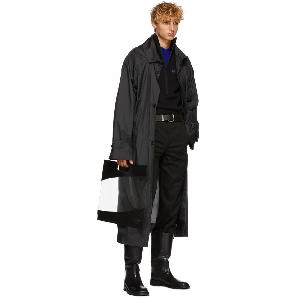 Ribeyron Black Fleece Warmer Sweater for Men