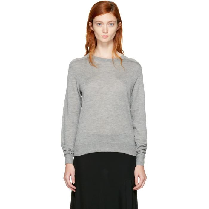 differently b0ae6 76e62 Totême Gray Grey Cashmere Verona Sweater