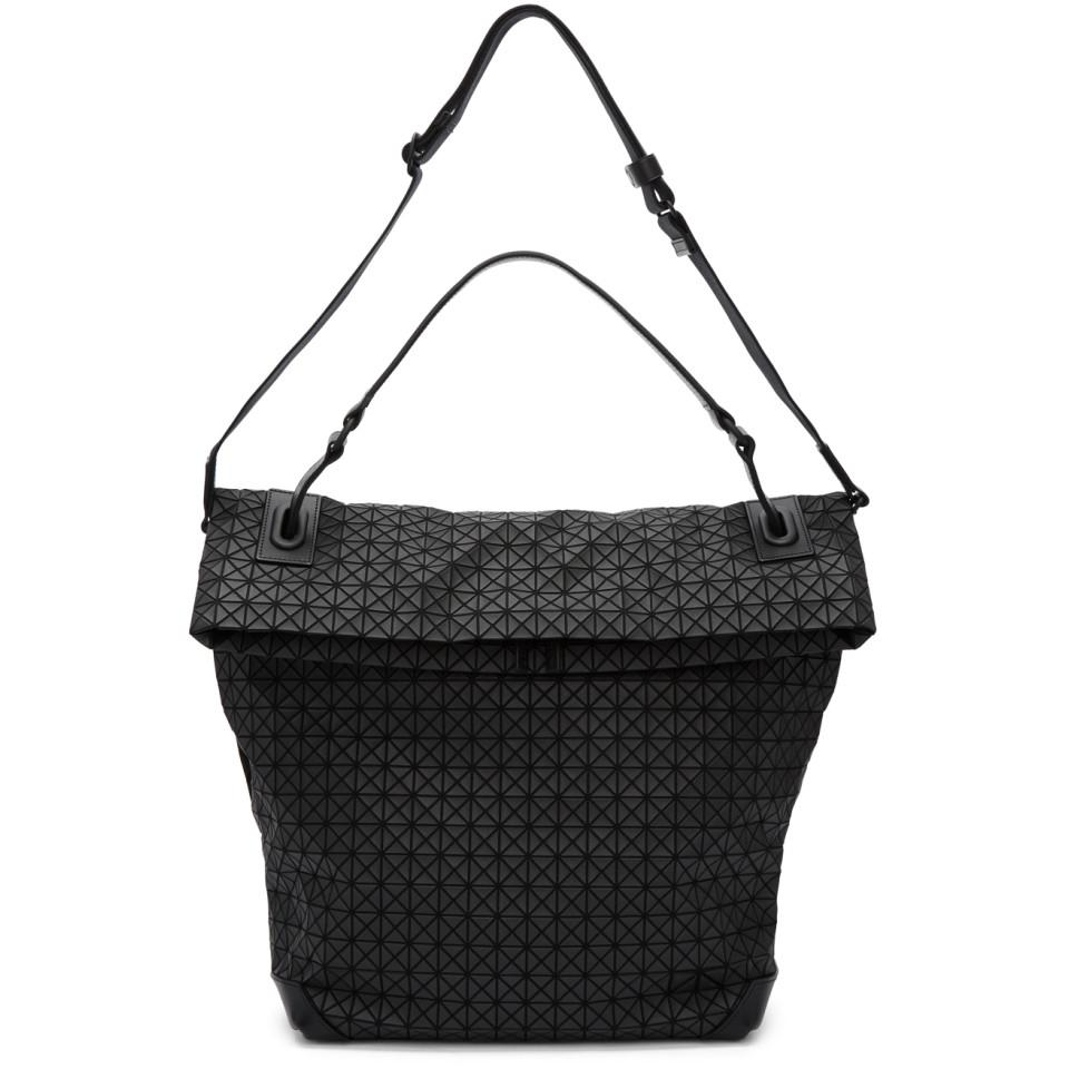 0391d4c6cb Lyst - Bao Bao Issey Miyake Black W Face Tote in Black