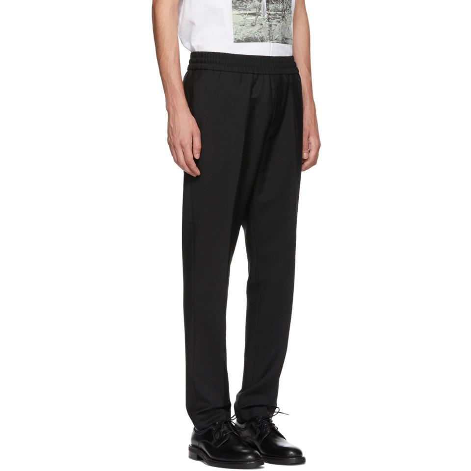 Acne Studios Wool Black Ryder L Trousers for Men
