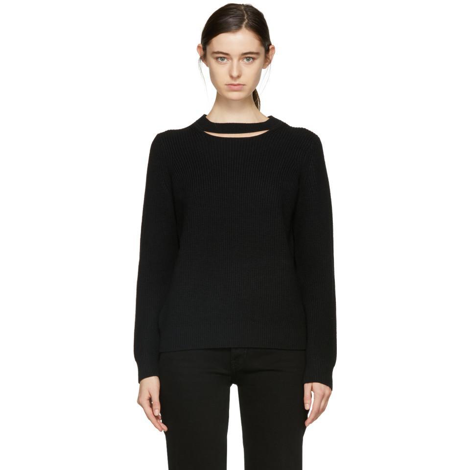 Black Tori Crewneck Sweater Rag & Bone Cheap Official NvS7vQMw