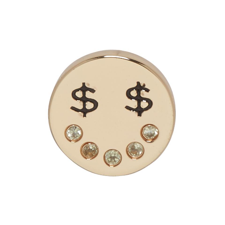 Marc Jacobs Gold Dollar Eye Earring 2dIkJ