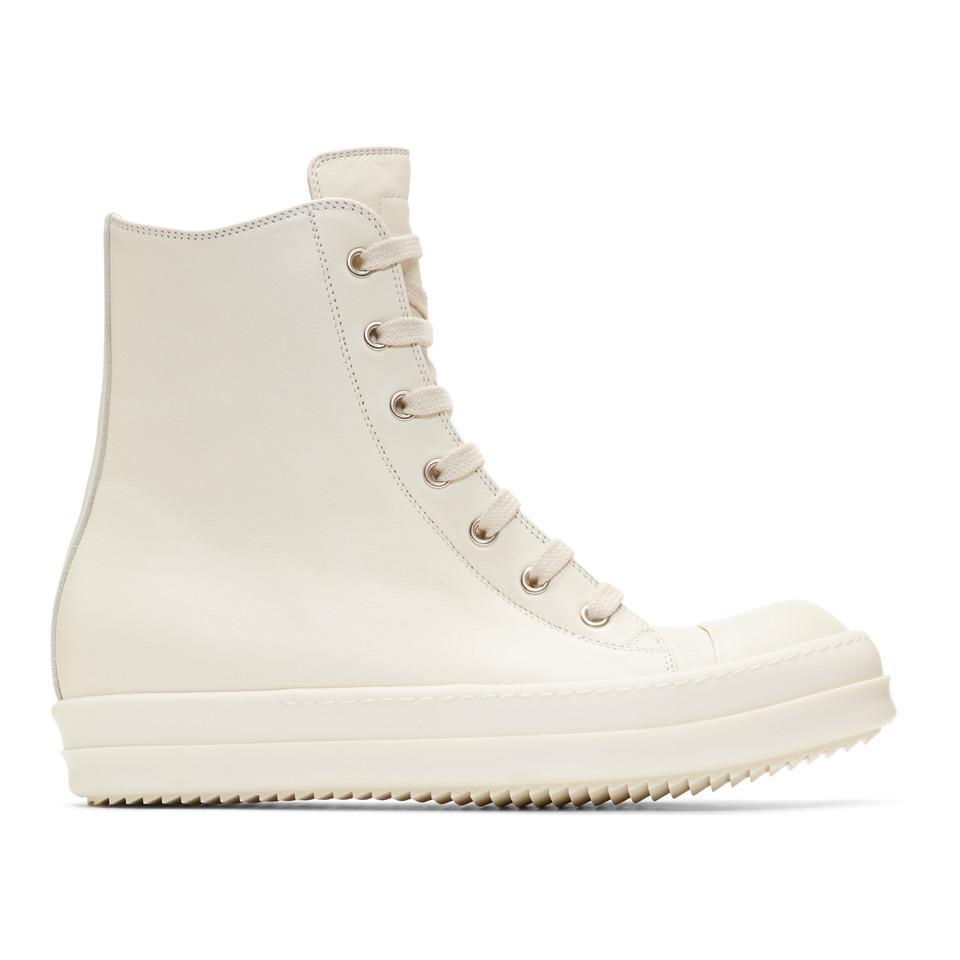 Off-White Mastodon High-Top Sneakers Rick Owens mUtb4zDm2