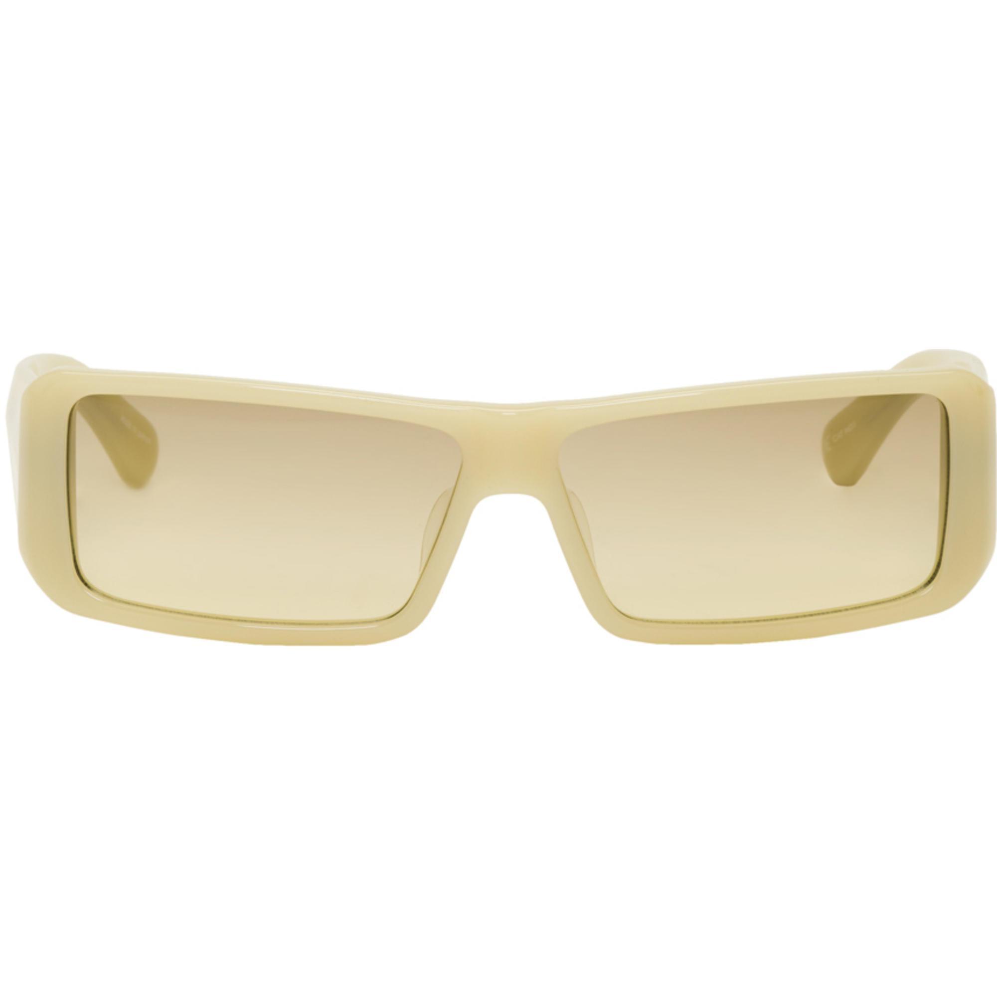 DRIES VAN NOTEN Green & Gold 173 C4 Sunglasses OTRYc3