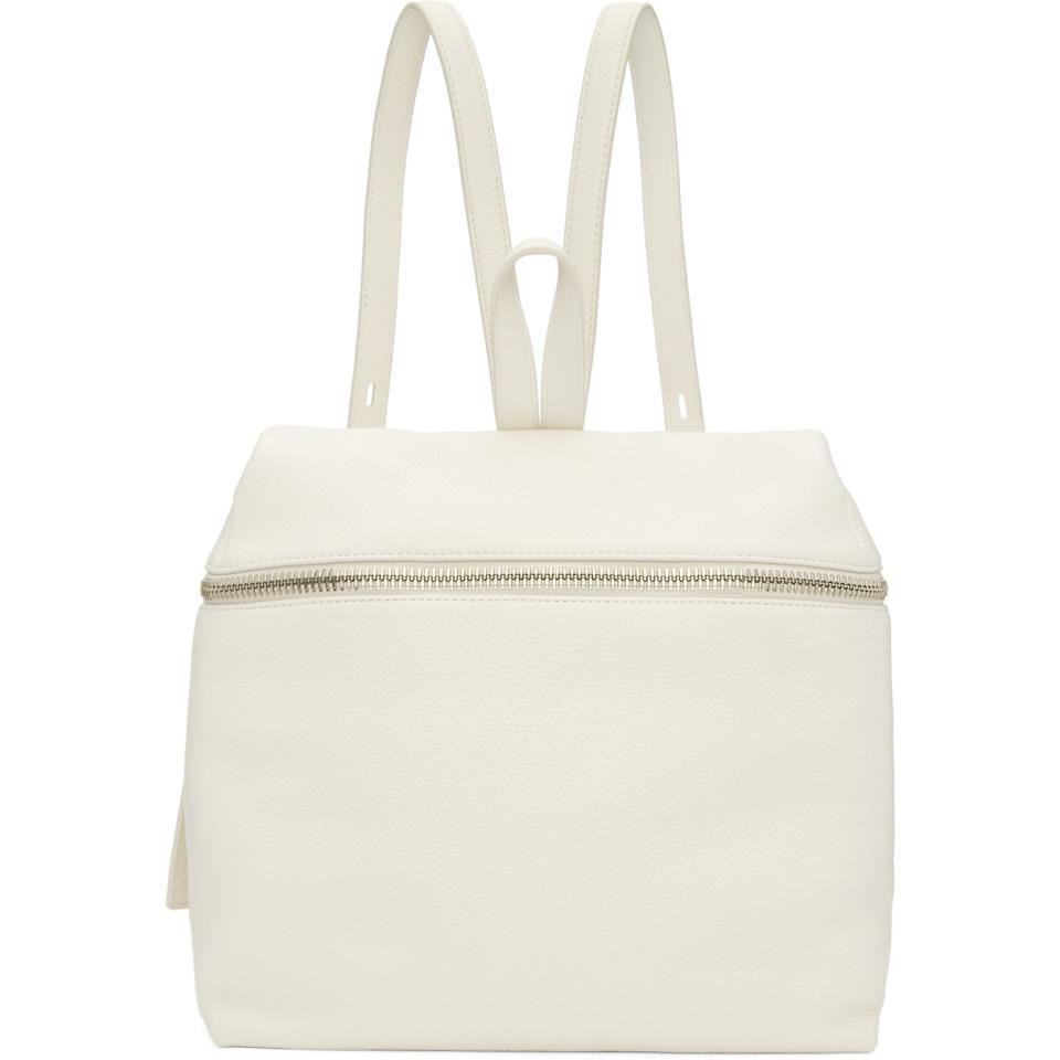 Off-White Large Leather Backpack Kara 2yAiSfgN