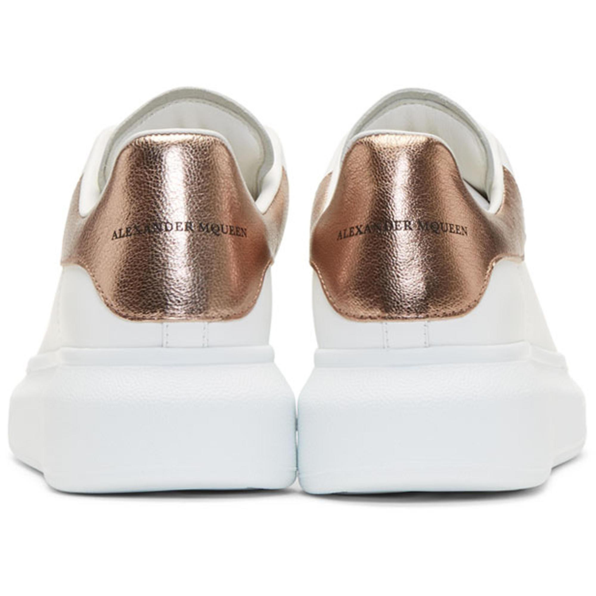 Rose Gold Oversized Sneakers - Lyst