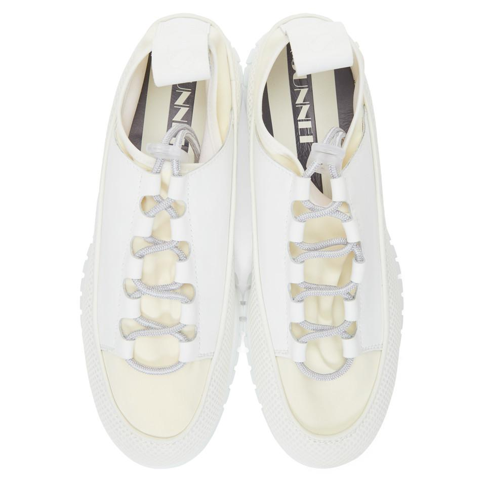 White And Off-white Water Sneakers