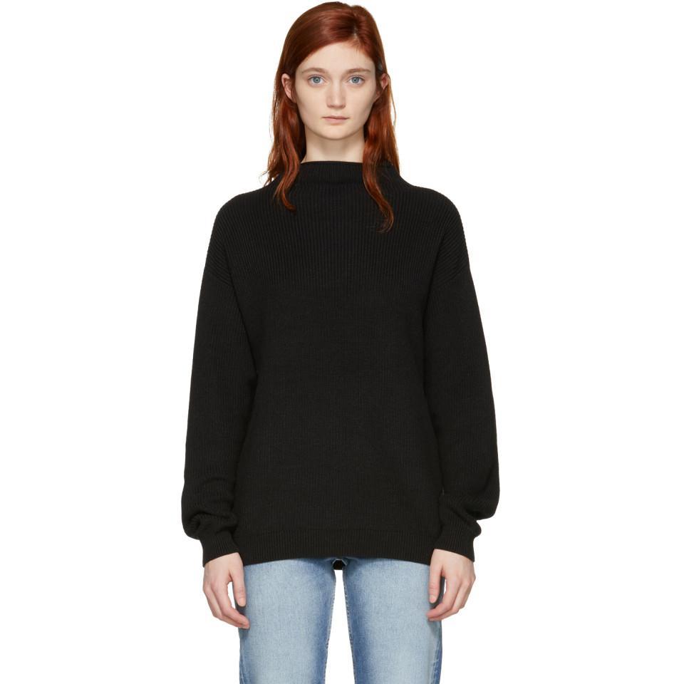Amazon Black Brook Crewneck Sweater Won Hundred Newest For Sale VscqVKCn5W