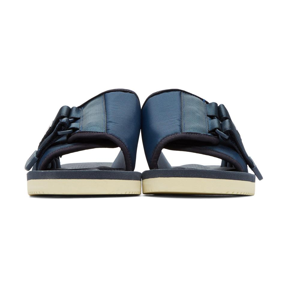 e6ad53c4aeaa Suicoke Navy Kaw-cab Sandals in Blue for Men - Lyst