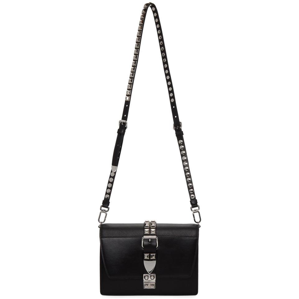 646670c3ce56 Prada Black Medium Elektra Bag in Black - Lyst