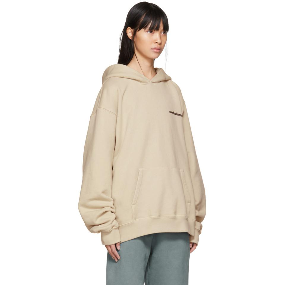 1f811b90b Yeezy Beige Calabasas French Terry Hoodie in Natural - Lyst