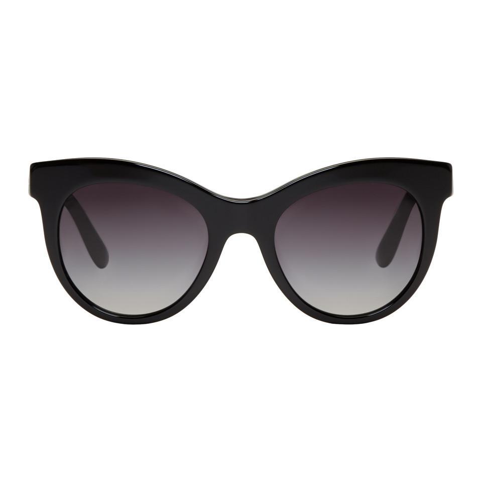 Noires Soleil Oeil De Coloris Dolceamp; Lunettes Chat Gabbana Black En BoxWrdCe