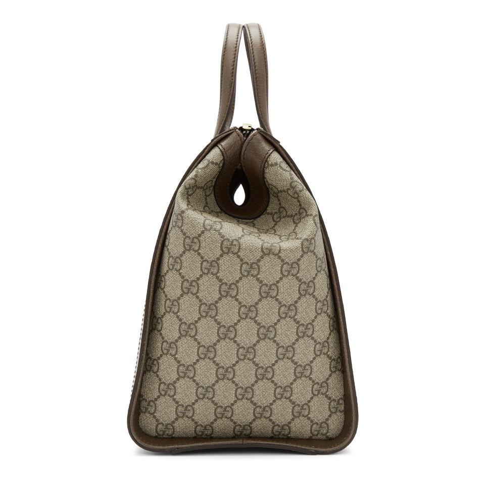 Lyst - Gucci Beige Ophidia GG Supreme Bag in Natural fcbaf4205a2