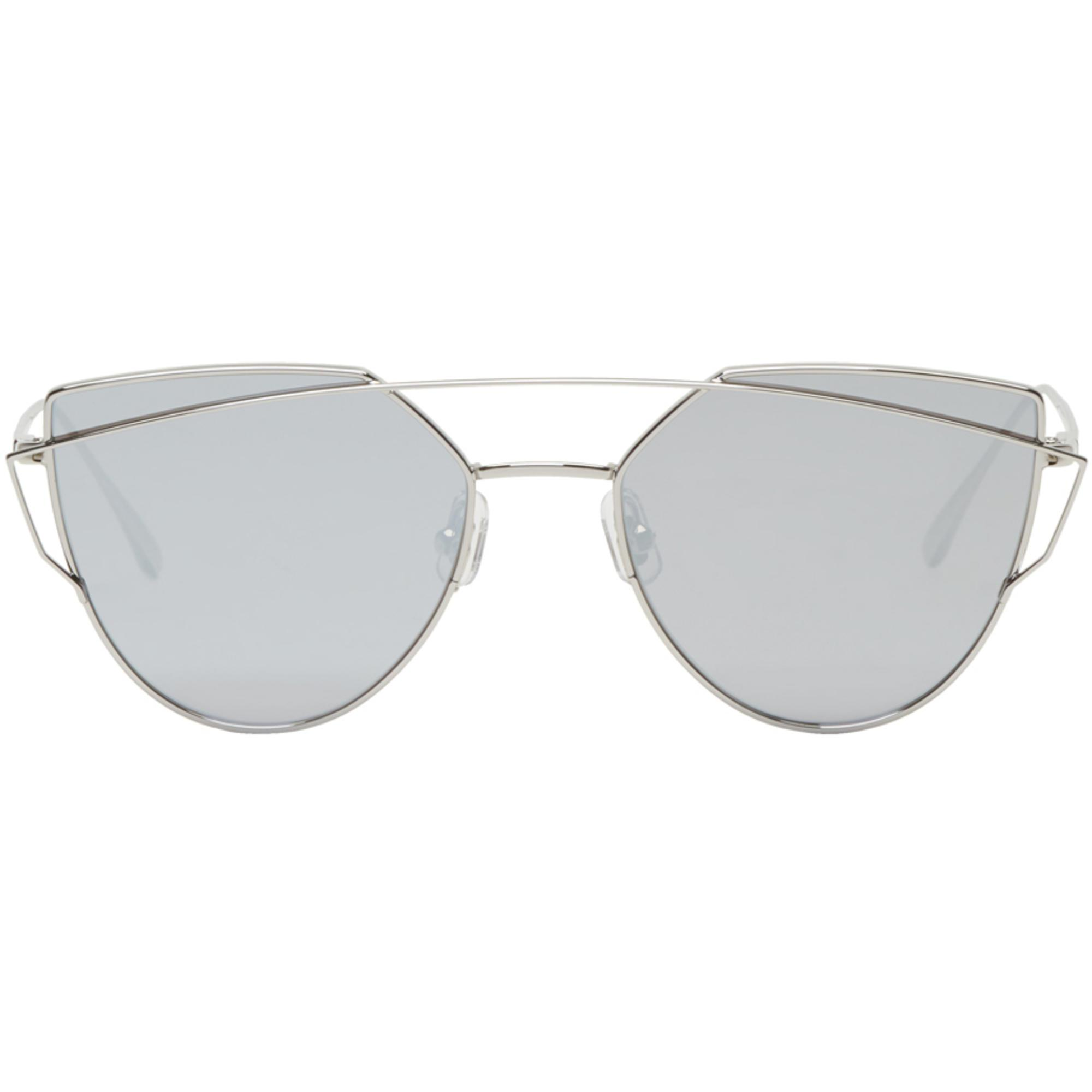 3e7a2f1cacd Gentle Monster Silver Love Punch Sunglasses in Metallic - Lyst