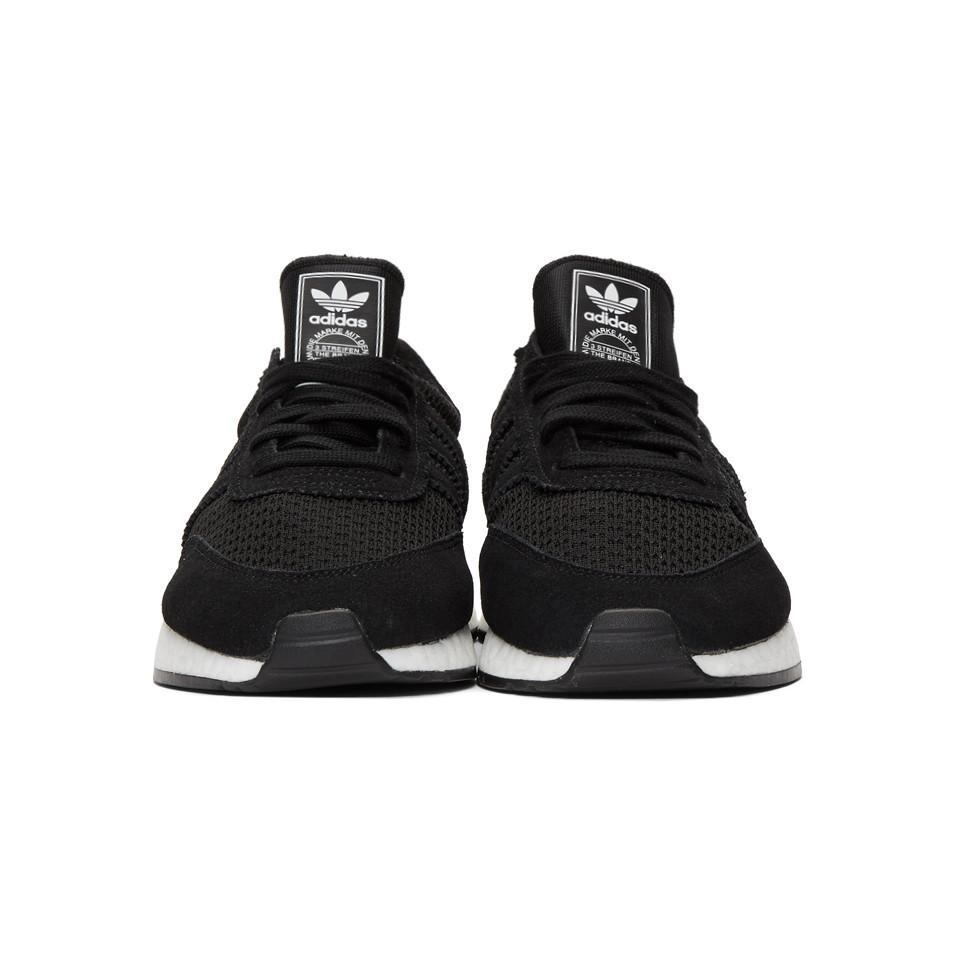 buy popular 37cfd 3f7ee adidas Originals Black I-5923 Boost Sneakers in Black for Me